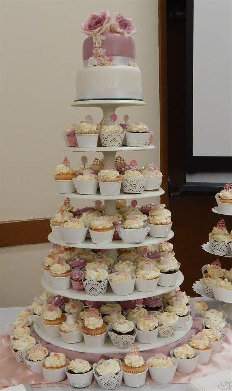 Dusty Rose Ormauve Wedding Cake   CakeCentral.com