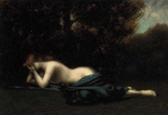 Jean-Jacques Henner, Pleureuse, Weeping Magdalene