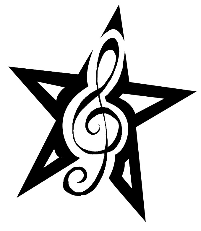 Free Cool Music Tattoo Designs To Draw Download Free Clip Art Free