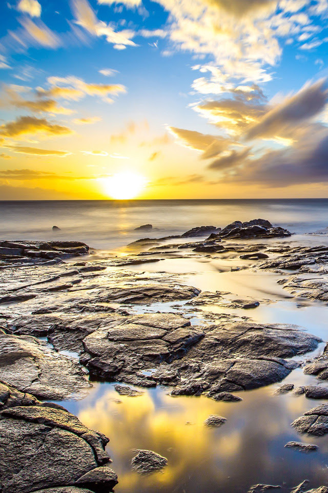 Hawaii Landscape iPhone Wallpaper HD