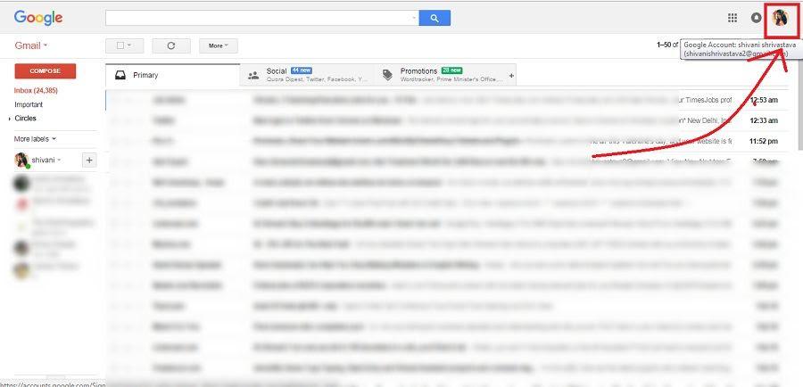 Cara menonaktifkan akun Gmail