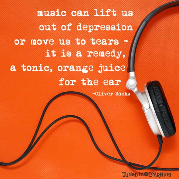 Inspirational Music Quotes Tuned In To Learning