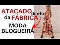 fornecdor de moda blogueira no atacado barato
