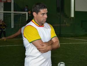 Leandro Sena, técnico do América-RN (Foto: Jocaff Souza)