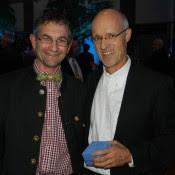 mit Toni Innauer beim Klimaschutzpreis 2013