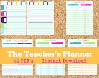 teacher planner – Etsy