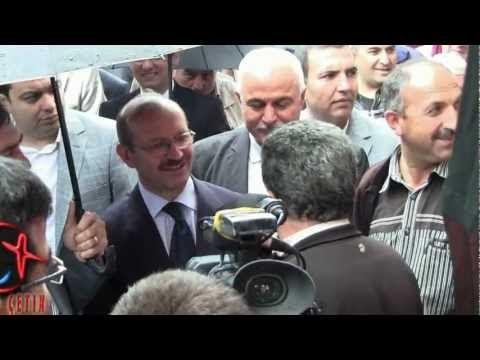 Cuma Pazarı Gezisi - Orman ve Su İşleri Bakanı Veysel Eroğlu Bozkır'da