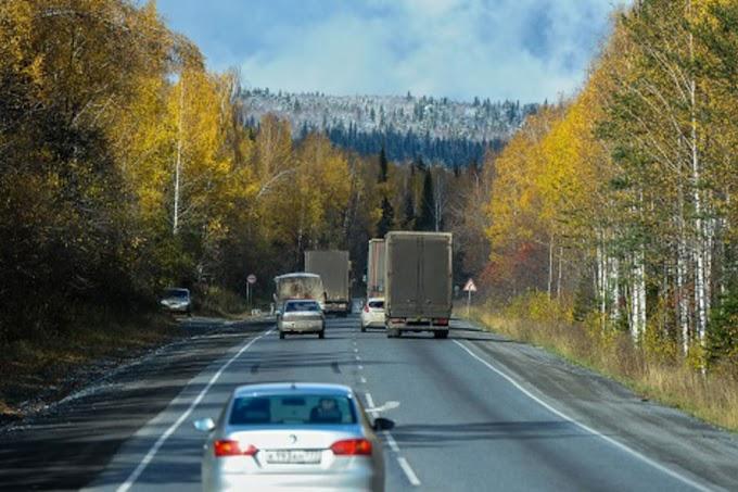 Участок трассы Р-404 (Тюмень-Тобольск-Ханты-Мансийск) частично перекроют на восемь месяцев