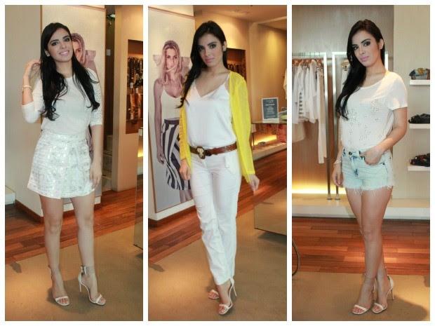 Blogueiras escolheram peças de roupa para todos os gostos (Foto: Camila Henriques/G1 AM)