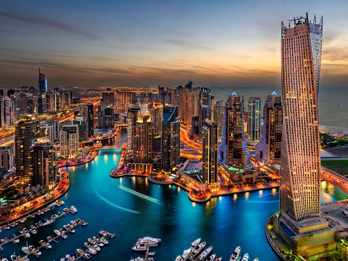 12. Dubai, United Arab Emirates: 11.4 million international visitors