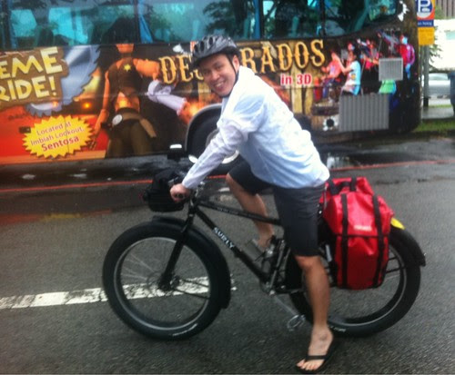 OCBC CYcle Malaysia - Kevin Lim on his Surly