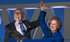 The Iron Lady: Jim Broadbent as Denis Thatcher and Meryl Streep as Margaret Thatcher