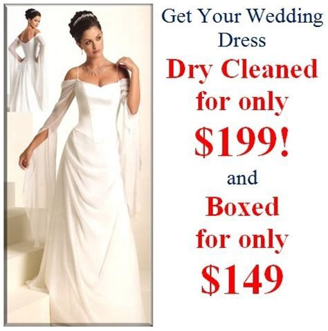 Wedding Dresses Dry Cleaning Department   Bridal Shops
