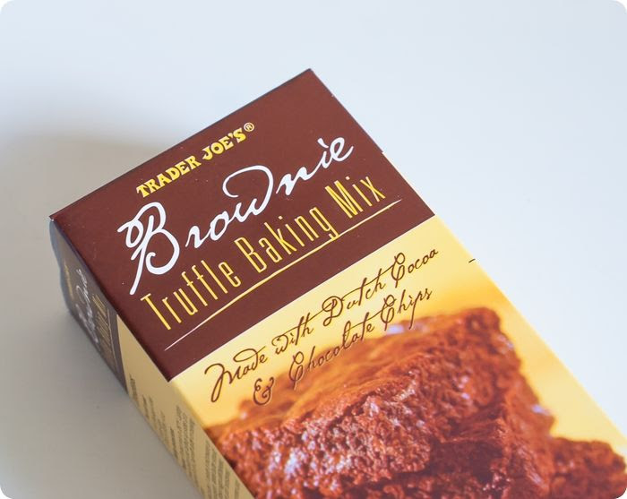 trader joe's truffle brownie mix ... yay or nay?