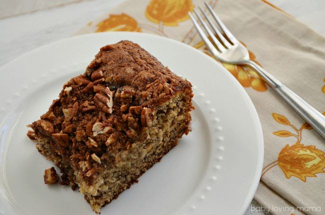 Banana Nut Coffee Cake