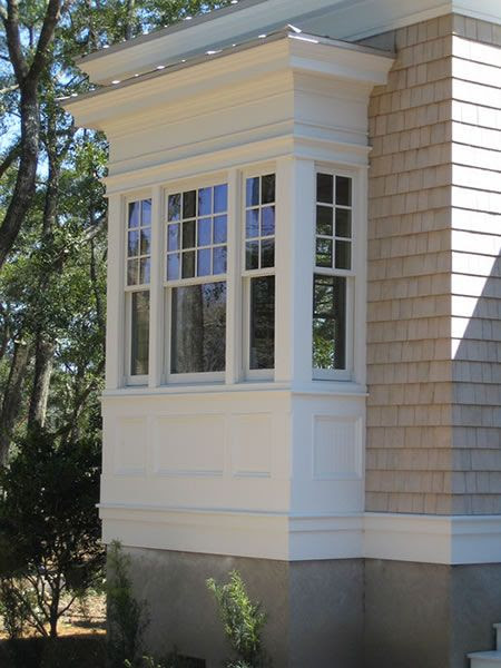box bay window