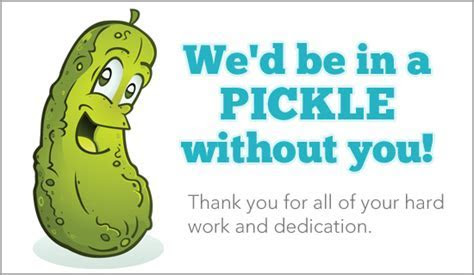 Free In A Pickle eCard   eMail Free Personalized Thank You