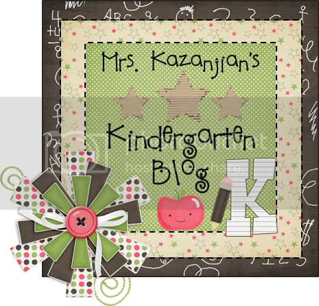 Mrs. Kazanjian's Kindergarten Blog