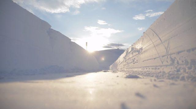 Ήταν ένα χιονισμένο Χειμώνας στη Νορβηγία