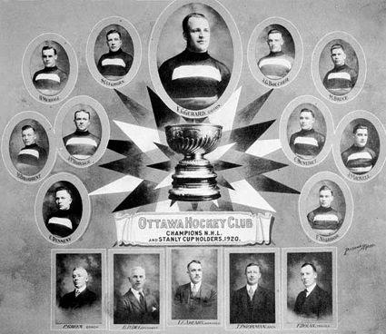 Ottawa Senators 1920, Ottawa Senators 1920