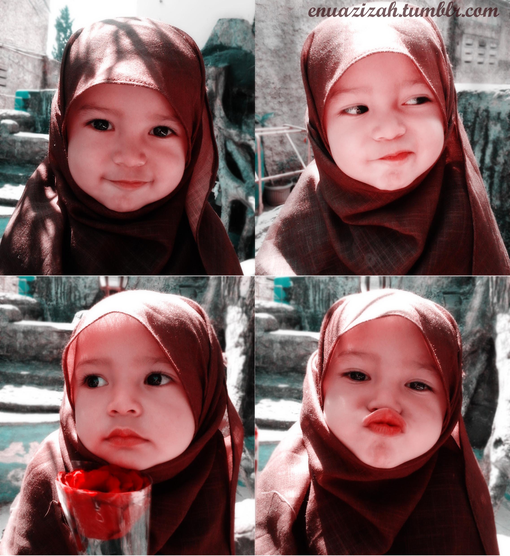 Foto Anak Kecil Lucu Islami