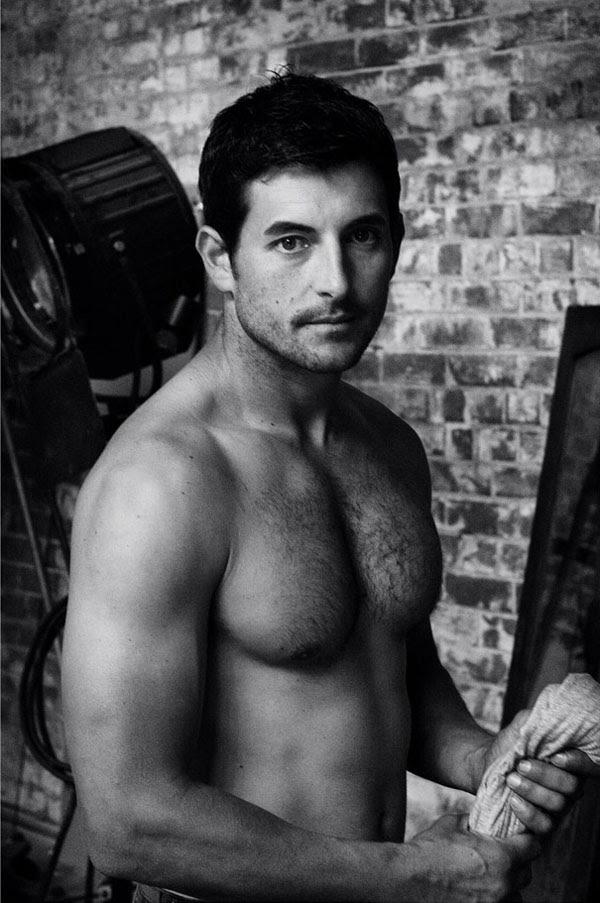 Male Modelling Portfolio, Main Body Shot. Kent Johnson Photographer