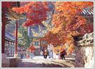 korea weather autumn