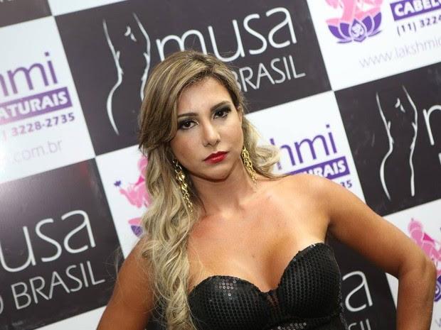 Raquel Santos, de 28 anos, morreu após se submeter a um procedimento estético (Foto: Musa do Brasil/ Divulgação)