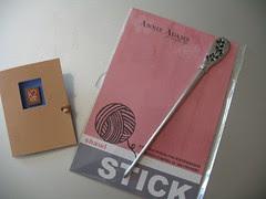 Shawl stick and pin