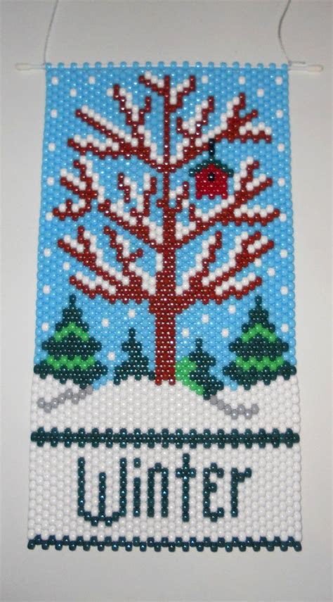 1000  ideas about Beaded Banners on Pinterest   Peyote