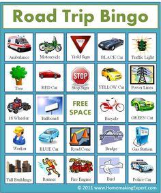 FREE Printable} Aussie Road Trip Games   Pinterest   Trips, Free ...
