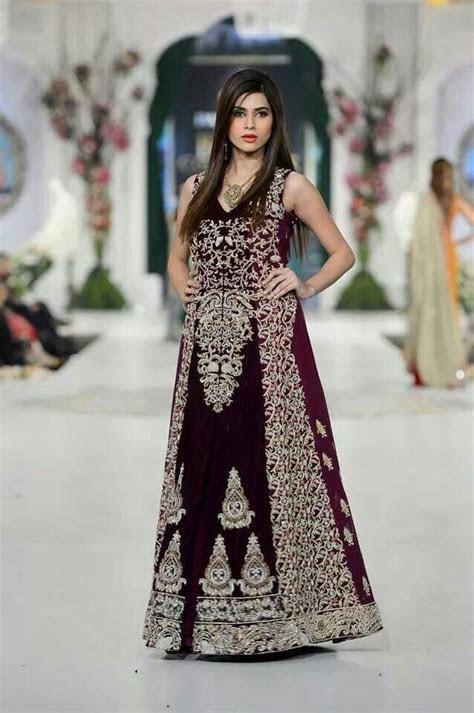 Latest Pakistani Party Dresses and Frock Designs 2018