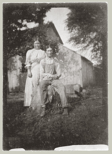 Tintype Couple