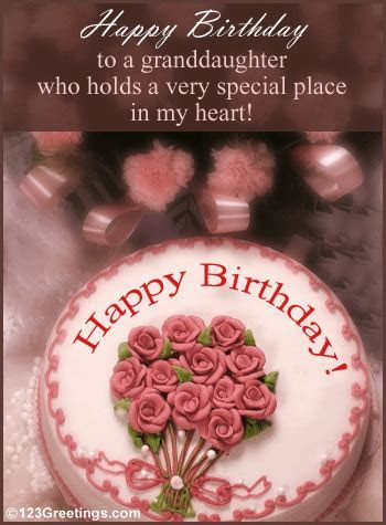 Granddaughter's Birthday! Free Extended Family eCards