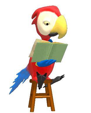 animasi bergerak  powerpoint burung internet