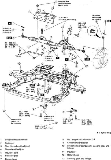| Repair Guides | Power Steering Gear | Removal