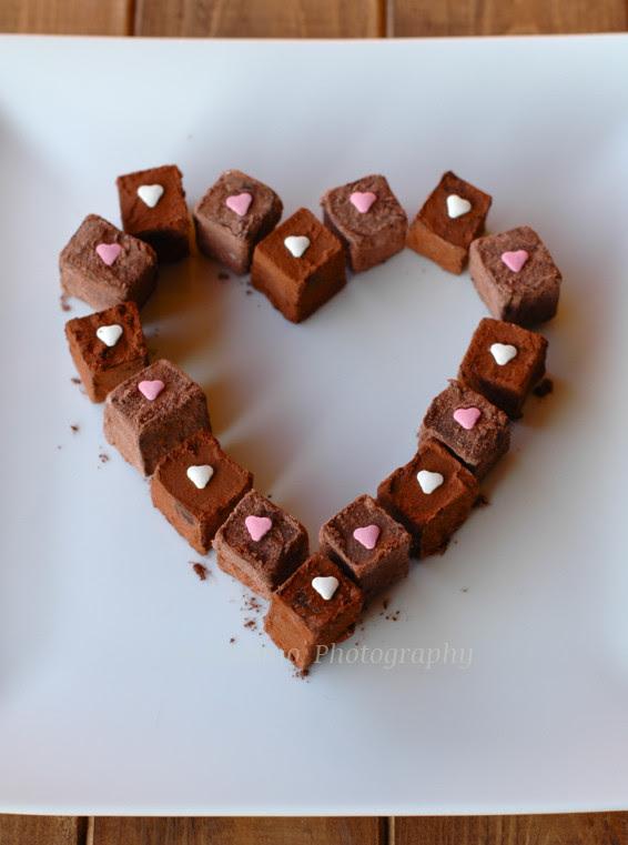 Cioccolatini a San Valentino