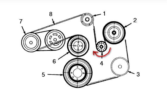 27 2003 Mercury Sable Belt Diagram