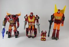 Transformers Rodimus/Hot Rods modo robot