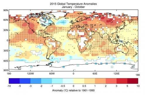 Período entre 2011 e 2015 é o mais quente já registado