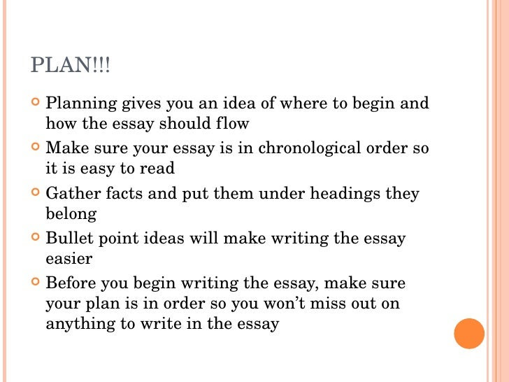 how to write a good why school essay