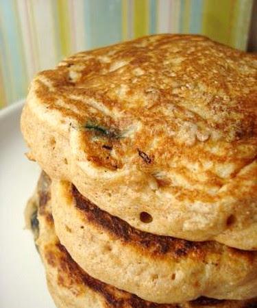 Light Blueberry Buttermilk Whole Wheat Pancakes