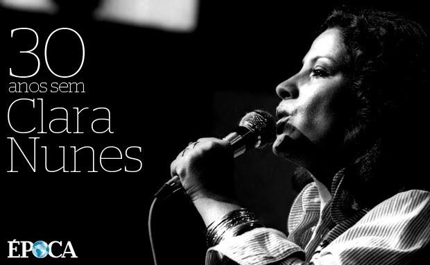 Clara Nunes (Foto: Paulo Wrencher / Agência O Globo)