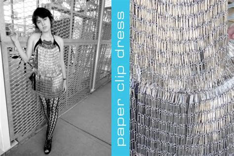 Paper Clip Dress ? Charming Ink