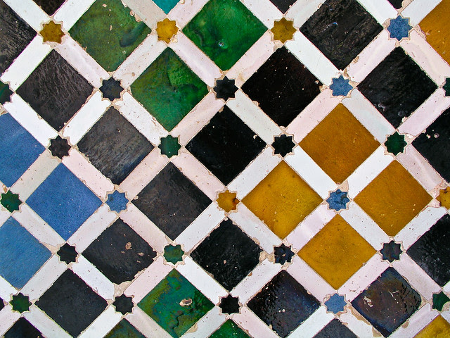 Mosaico La Alhambra
