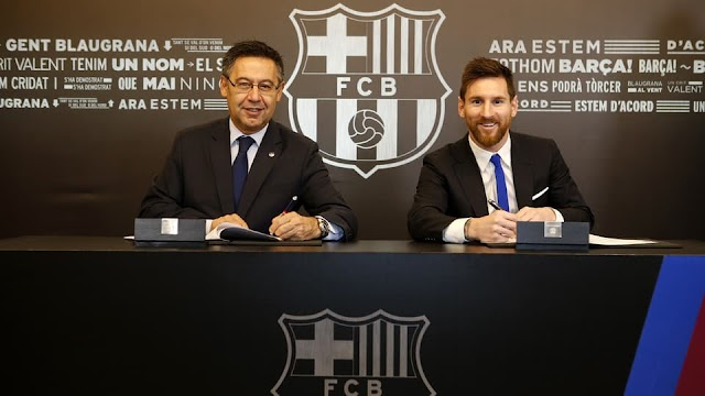 We Cannot Bear The Thought of Letting Messi Go – Barcelona