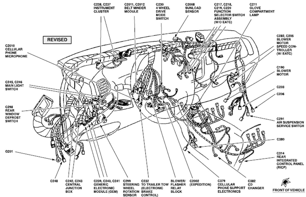2001 expedition: /eddie bauer..stop working..wiper relay #202