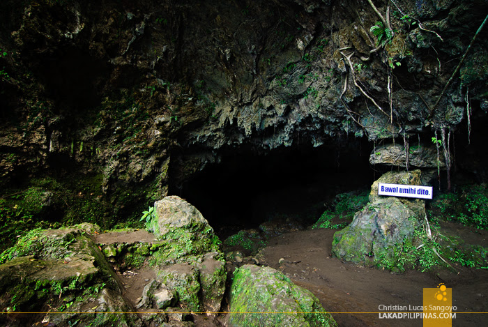 The Entrance to Suhot Cave in Dumalag, Capiz