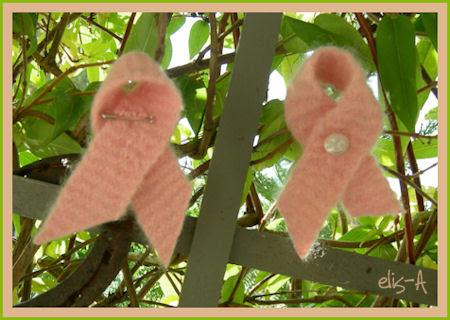 rosa sløyfer / pink ribbons