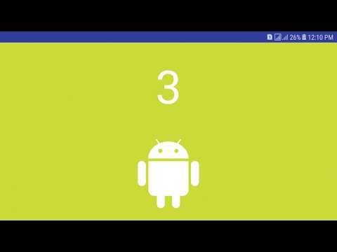 Android pager animation
